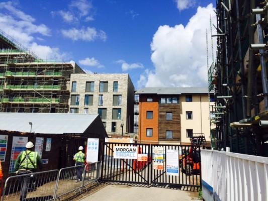 Beautiful brickwork revealed at All Saints Green, Norwich
