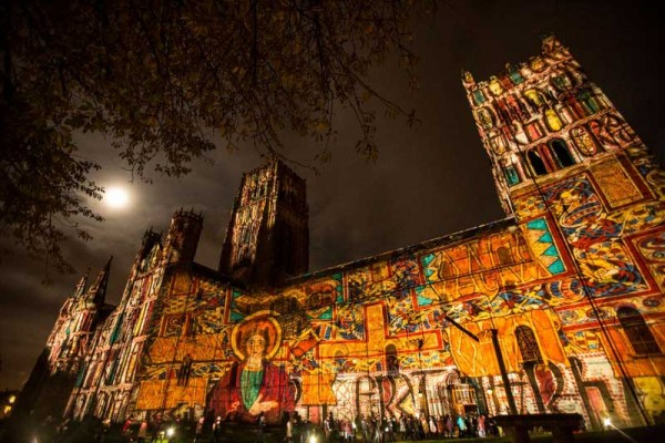Short film of highlights of Lumiere, Durham 2015