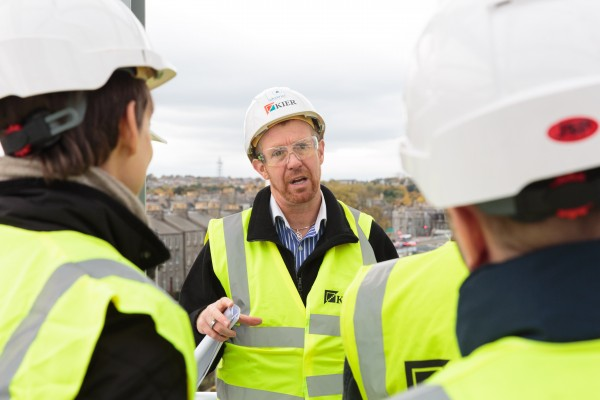Aberdeen's Future Engineers Visit Alumno Site
