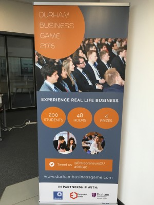 Durham Business Game – Sponsored by Alumno