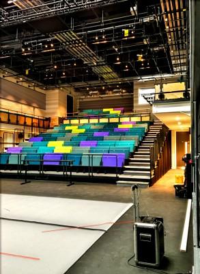Theatre Peckham ready to go!