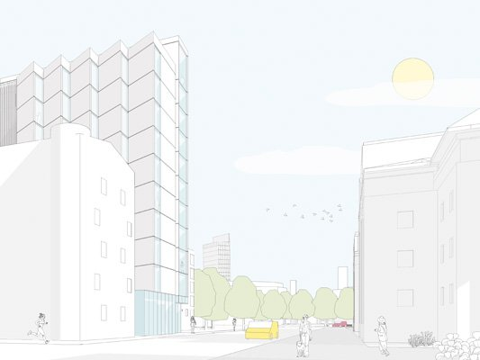 Planning Application for Cambridge Street, Manchester.
