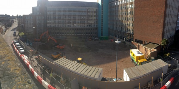 Progress report from The Quad site, Norwich