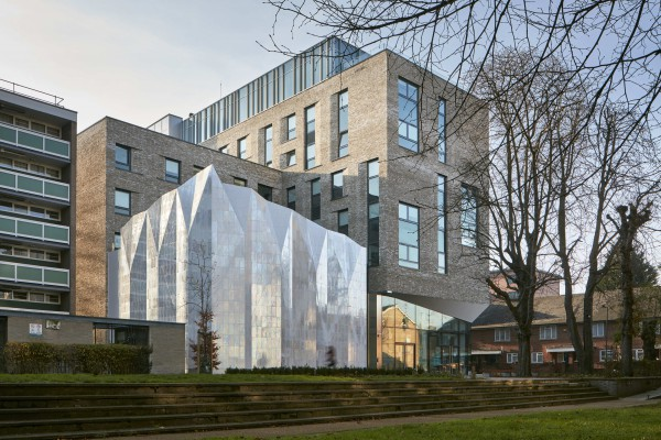 The Alumno Building and Theatre Peckham featured on high profile  architectural websites
