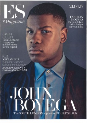 Hollywood Actor John Boyega trained at Theatre Peckham