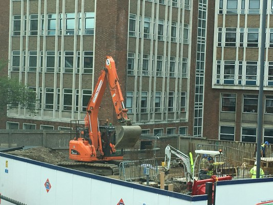 "Exciting progress at ""The Quad"", Norwich"