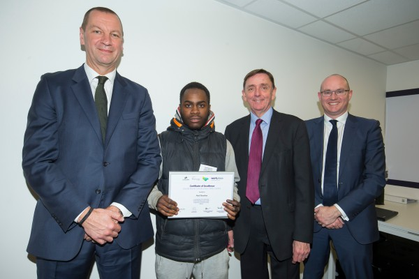 Stratford site employee received excellence award