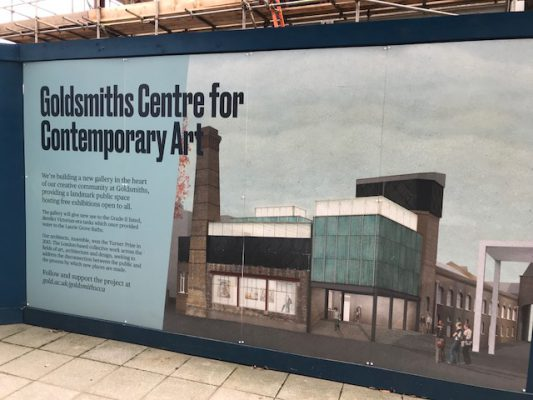 Tour of Goldsmiths Centre for Contemporary Art