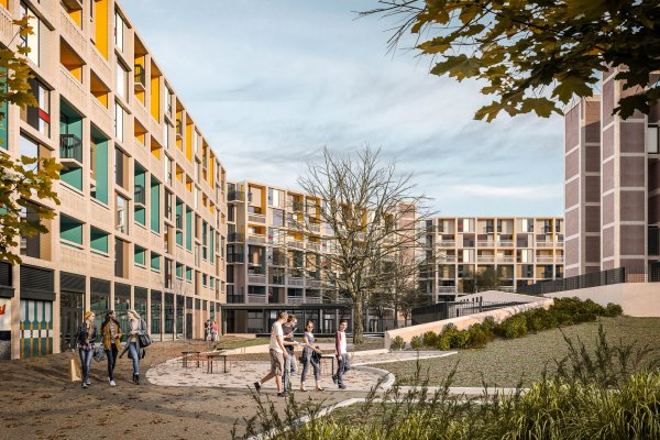 The regeneration of Park Hill continues as Sheffield City Council grants permission for Phase 3 of the redevelopment