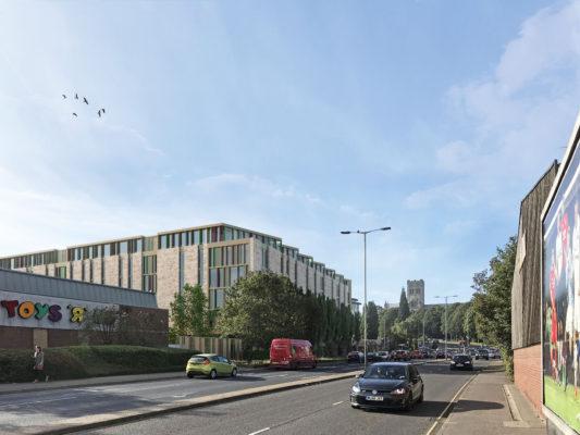 3rd Norwich Alumno scheme granted planning