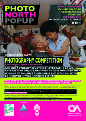Competition dates announced – Student photography Sheffield