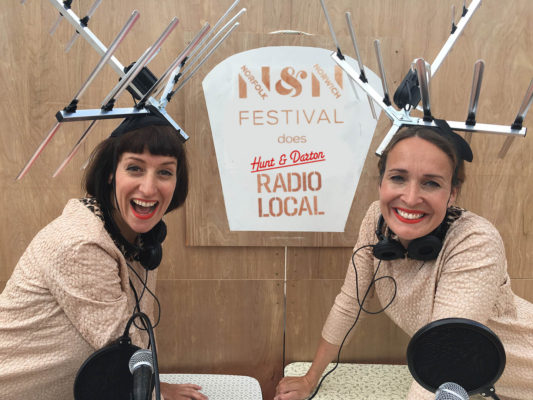 Norfolk & Norwich Festival Does Radio Local