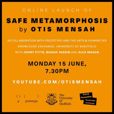 Otis Mensah online book launch 15 June