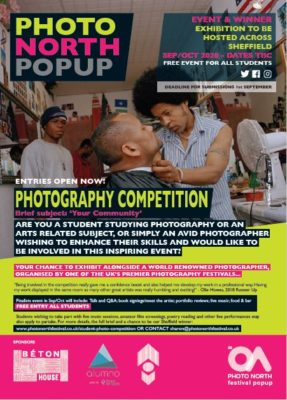 Sheffield Photography Competition Featured in the Sheffield Star