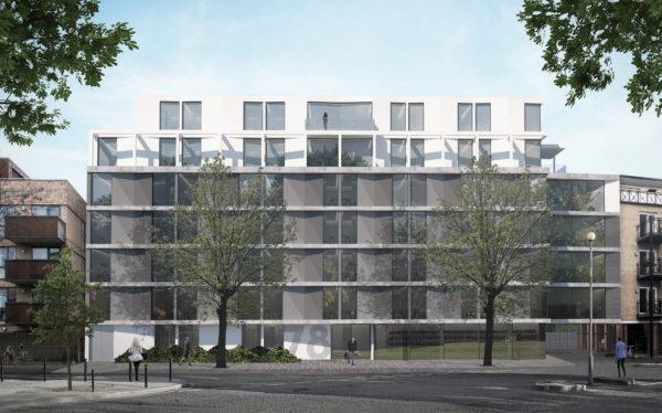 Bermondsey scheme, London progress