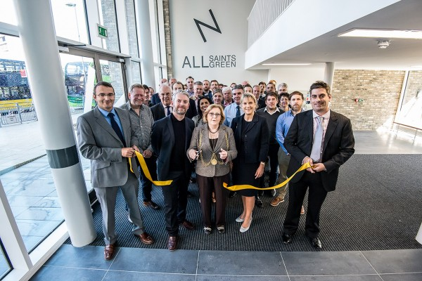 Lord Mayor of Norwich opens All Saints Green student accommodation