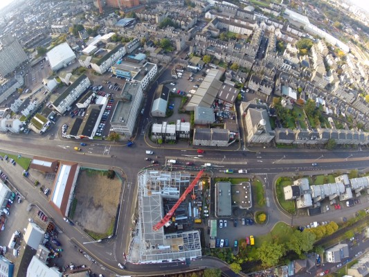 A view from the drone … October 2015