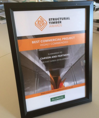 East Shore Highly Commended at the ST Awards