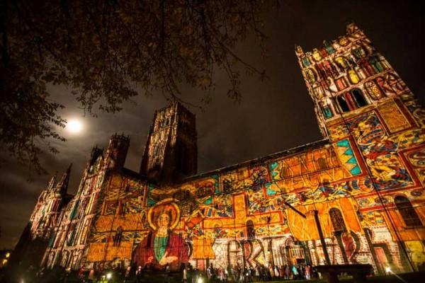 Short film of highlights of Lumiere, Durham 2015