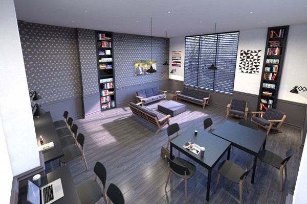 Common Room Concepts Visualised
