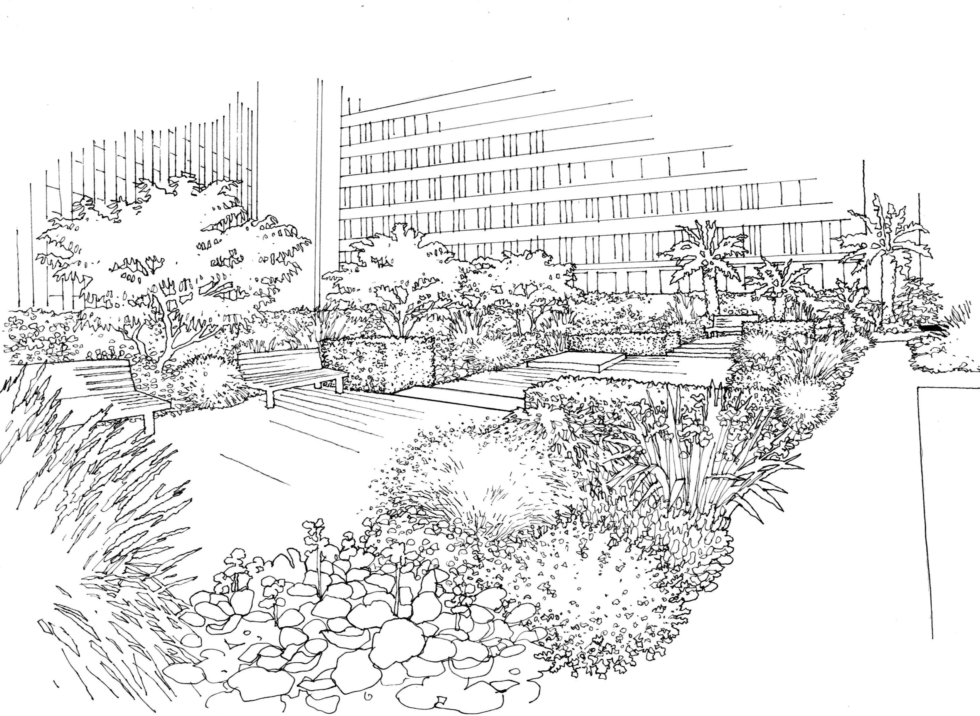 courtyard view 1a