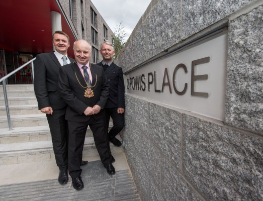 Powis Place, Aberdeen opens its doors to visitors before the new students move in