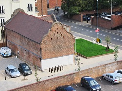 View of No.50 All Saints Green from the roof
