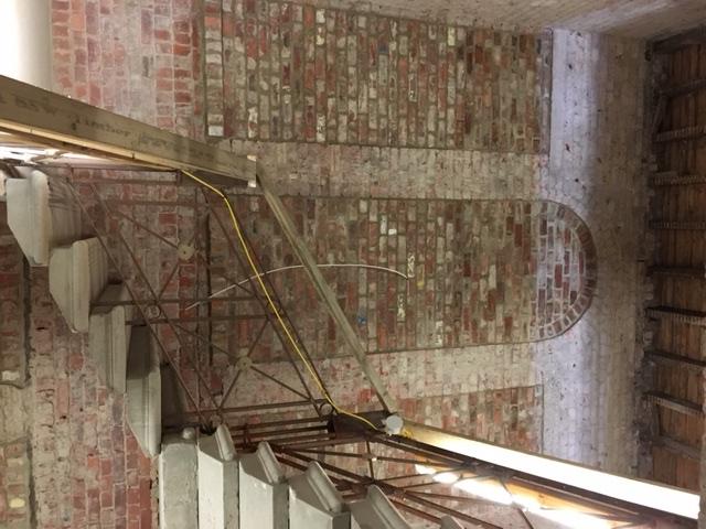 Exposed brick work Nov 16