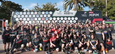 Alumno proud to sponsor L&G in Club Peloton Cycle to MIPIM
