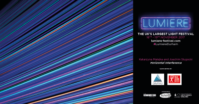 """Alumno proud to sponsor """"Horizontal Interference"""" at Lumiere 2017"""