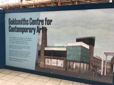 Tour of Goldsmiths Centre for Contemporary Art