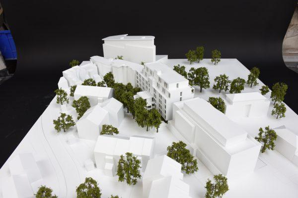 Impressive model work for the Bermondsey Scheme