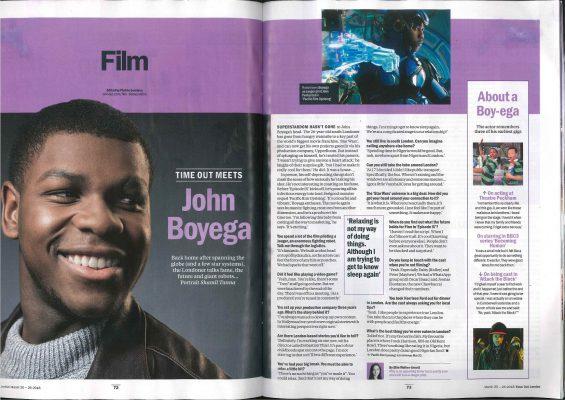 John Boyega going from strength to strength