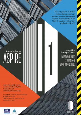 Aspire 1 – opening event