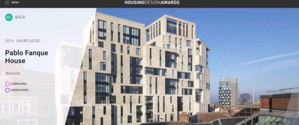 2019 RICS National Housing Awards