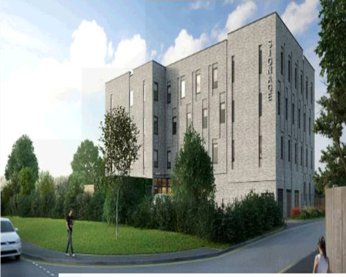 Construction Work Starts On Falmer Cottages in Brighton