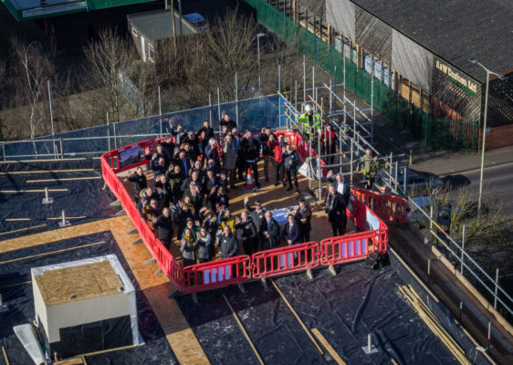 Benedict Gate's Topping Out Ceremony and Poetry Competition Winner announcement