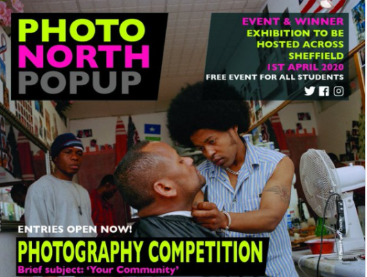 Sheffield Student Photography competition deadline extended to 1 May