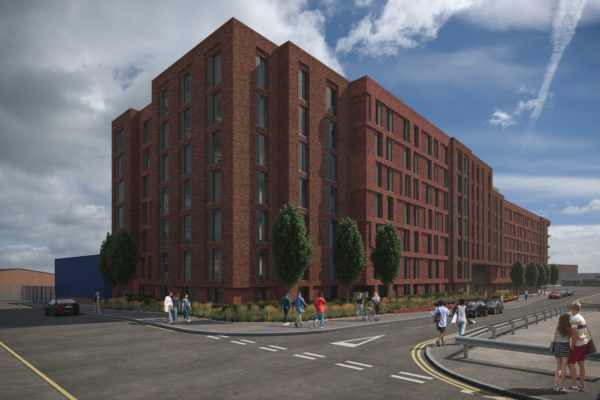 Planning application submitted for New Leeds Student Residence and Artist Complex