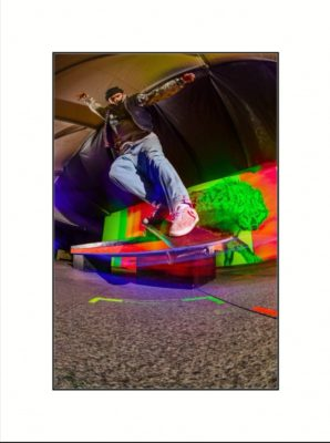Congratulations to Student Competition Finalist, Jarrad Thomas for the project – Subcultural Practices, Spaces & Skateboarders