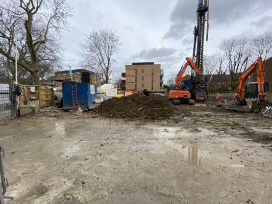 Progress at Bermondsey London