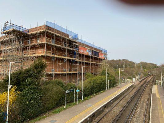 Progress in Brighton, Falmer Cottages